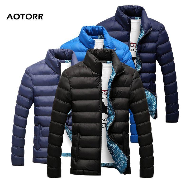 Куртки мужские зимние 2019 мужские куртки и пальто вскользь Верхняя одежда Пальто Плотный Parka Мужской Одежда Streetwear куртка chaqueta Hombre V191129