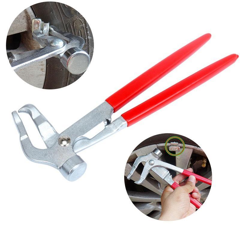 다기능 자동차 타이어 균형 펜치 타이어 수리 클램프 자동 휠 타이어 수리 균형 평형 제거 금속 도구