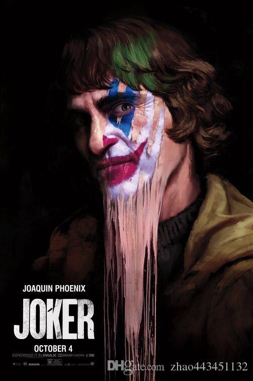 seda cartel Joker Lámina Puente de la película 03