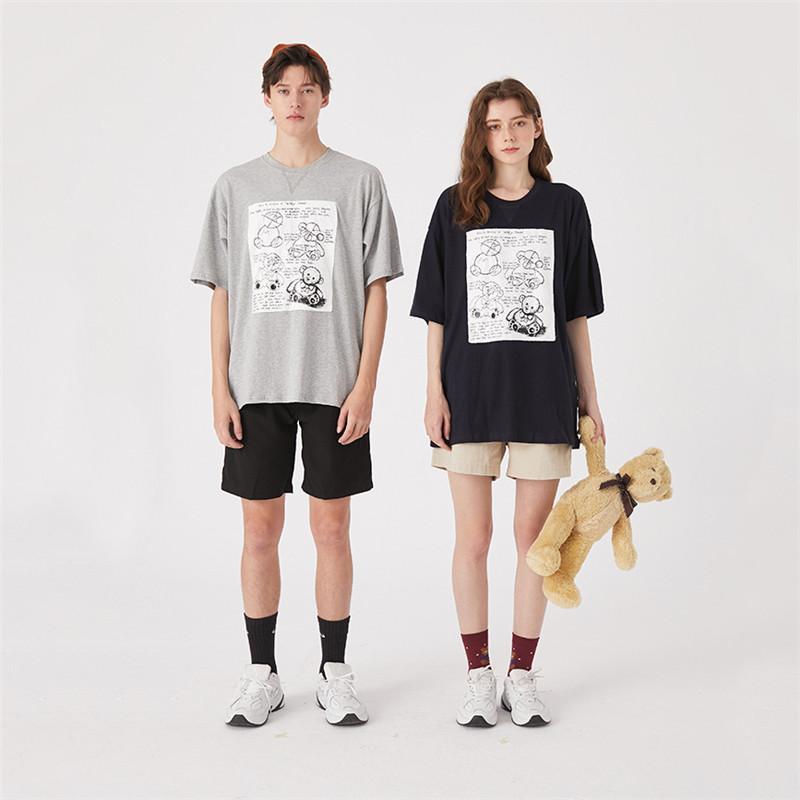 Womens Tasarımcı Tişörtler Moda Womens Yaz Tshirts Marka Kısa Kollu Mektupları Oversize Bahar Tshirts 2051103V Tops yazdır