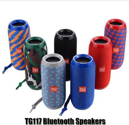 TG116 ترقية الإصدار TG117 بلوتوث المحمولة سماعات مزدوجة القرن البسيطة في الهواء الطلق مكبر للصوت للماء المحمولة سماعات لاسلكية