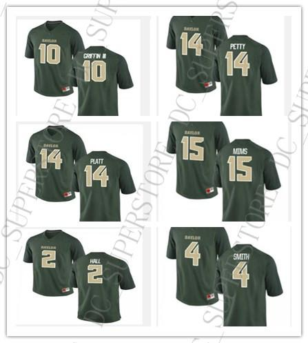 big sale 66e47 2f0cd 2019 Cheap Wholesale Baylor Bears Football Jerseys 14 Bryce Petty 10 Robert  Griffin III 25 Lache Seastrunk Stitch Customiz Any Name Number From ...