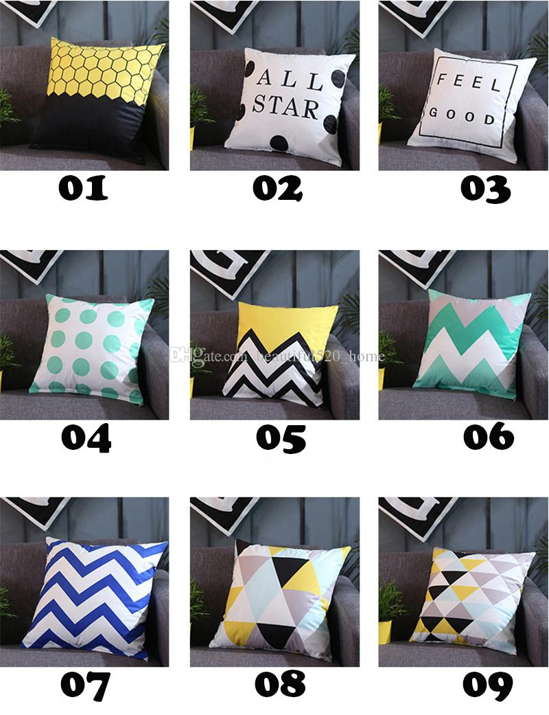 18 X 18 Throw Pillow Covers Square Decorative Pillow Covers Indoor Outdoor Sofa Chair Pillow Cases Bh18109 Outdoor Seat Cushions On Sale Seat Cushions For Outdoor Furniture From Beautiful520 Home 3 46 Dhgate Com