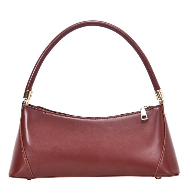 Designer Women Handbag Luxury Lady Underarm Shoulder Bag Plain Temperament Shoulder Bags High Quality Large Capacity Small bag