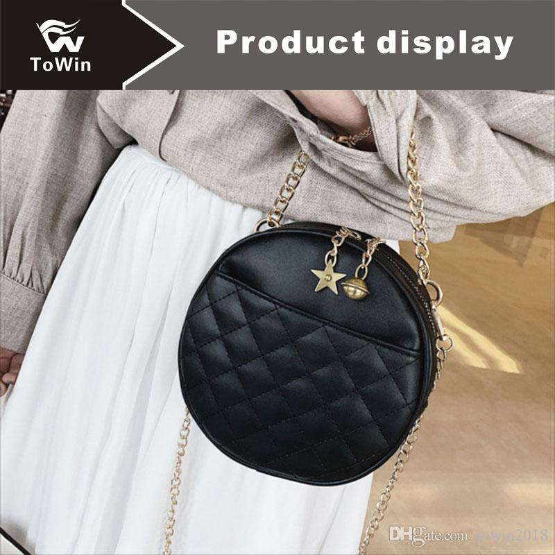 Hot Sale Designer Handbag Circular Bag Crossbody Solid Color Shoulder Bags Luxury Designer Handbags Women Sling Bags Mini Tote Wallet Purse