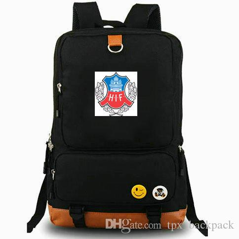 HIF рюкзак Helsingborgs если значок клуб день пакет новый футбольный мешок школы футбол рюкзак ноутбук рюкзак Спорт школьный открытый рюкзак