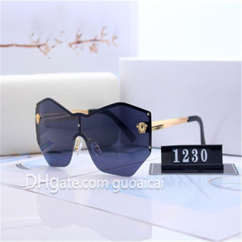 Stile Classico Unisex Moda Lusso occhiali protettivi Classic Design retrò occhiali casuale esterna di alta qualità fredda di occhiali da sole