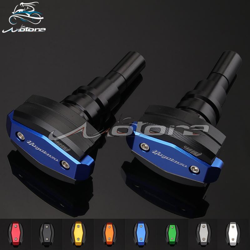 Motocicleta CNC Bater Pad Slider Quadro Guarda Proteção Para GSXR1300 GSXR 1300 HAYABUSA 2008 2009 2010 2011 2012 2013 2014