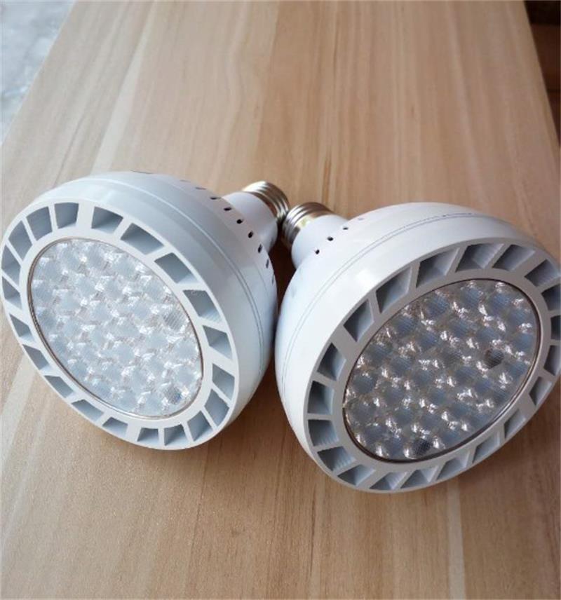PAR38 60W LED-Scheinwerfer Par 38 Birne SMD2835 warmes Weiß mit Lüfter für Schmuck Kleidung Shop Galerie führt Schienen-Schienen-Licht