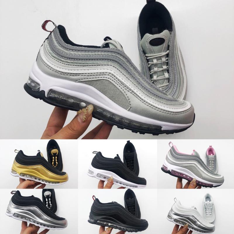 97 Livraison gratuite 2018 New Boys pas cher enfants athlétique et filles Sneakers Kids Sports Chaussures de course Taille EUR 28-35