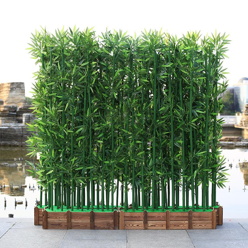 10pcs artificial plants 100/150/180cm fake bamboo plant hotel landscaping home decor indoor faux plants house bonsai