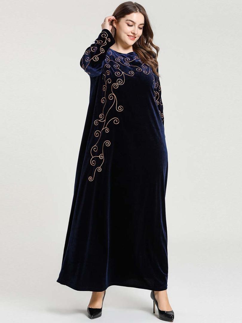 Dubai abayas veludo para as mulheres muçulmanas abaya vestidos turca burkini vestuário islâmico Bangladesh caftan arabic marocain djellaba