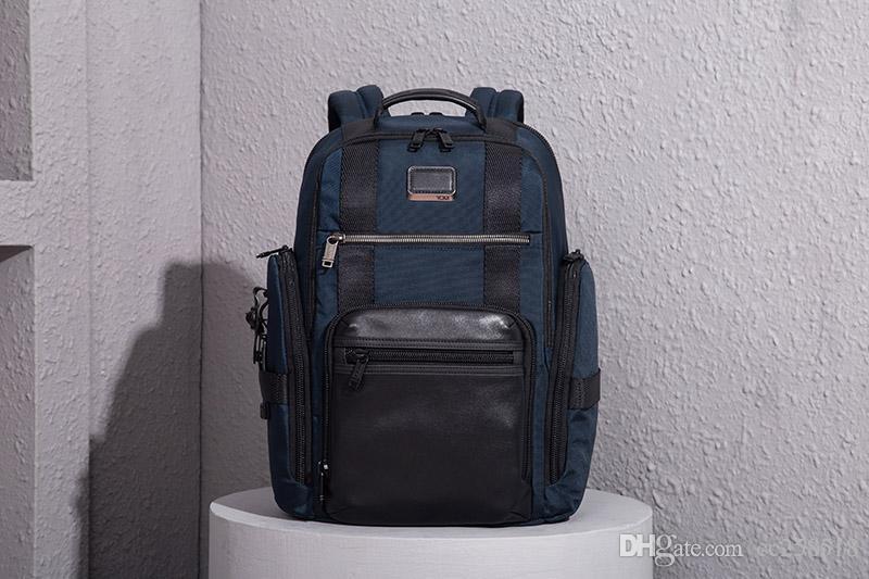 High Quality Ballistic Nylon Backpack for Men Outdoor Casual Travel Business Rucksack Handbag Laptop Bag like Tumi Brief Pack Alpha
