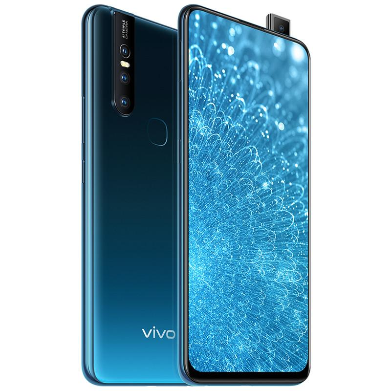 Original Vivo S1 4G LTE Cell Phone 6GB RAM 64GB 128GB ROM Helio P70 Octa Core Android 6.53 inch 24.8MP AI Fingerprint ID Smart Mobile Phone