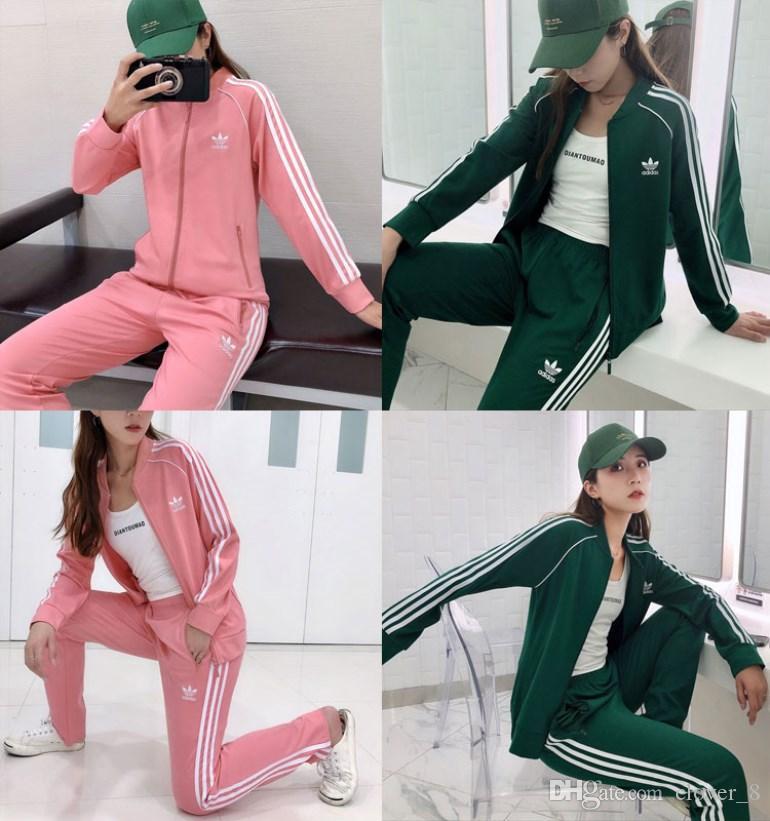 Frauen Jacken Hosen Trainingsanzug Hoodie Gamaschen 2-teiliges Set Outfits Joggingsportanzug Sweatshirt Strumpfhosen Sportanzug Frauen Kleidung klw2327