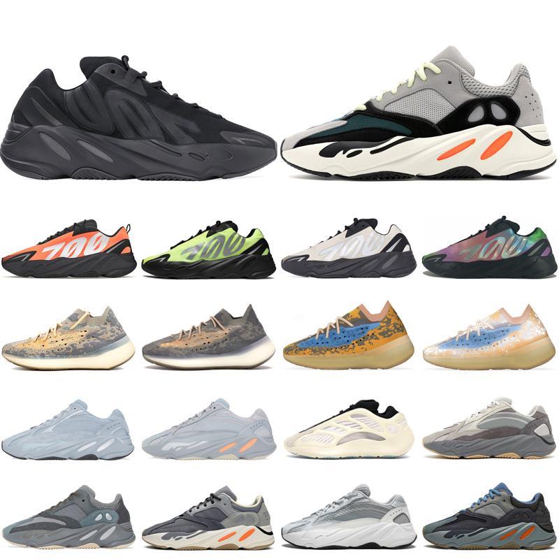 Adidas yeezy boost 700 v2 kanye west zapatillas de deporte Inertia Mauve diseñador zapatos para hombre zapatillas de deporte unisex 700 Solid Gray Geode Static 36-45
