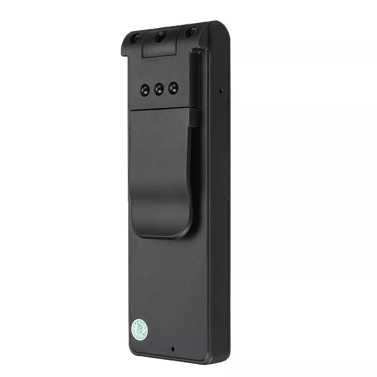 HD 1080P Polizeikörper Revers Video-Recorder-Kamera DVR IR-Nacht Pen 8-Stunden-Camcorder