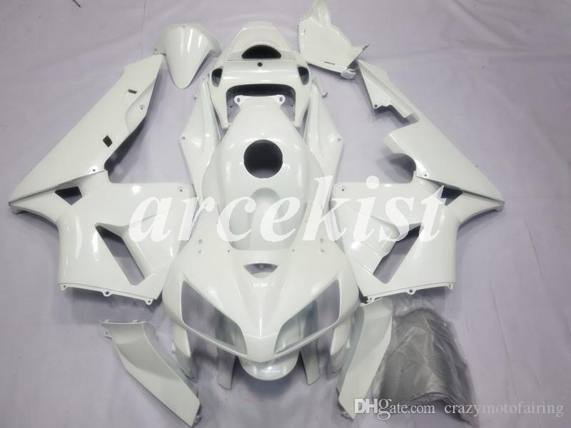 New Mold ABS Injeção Motorcycle carenagens completa Fit Kits para Honda CBR600RR F5 2005 2006 05 06 600RR conjunto carroçaria personalizado Branco