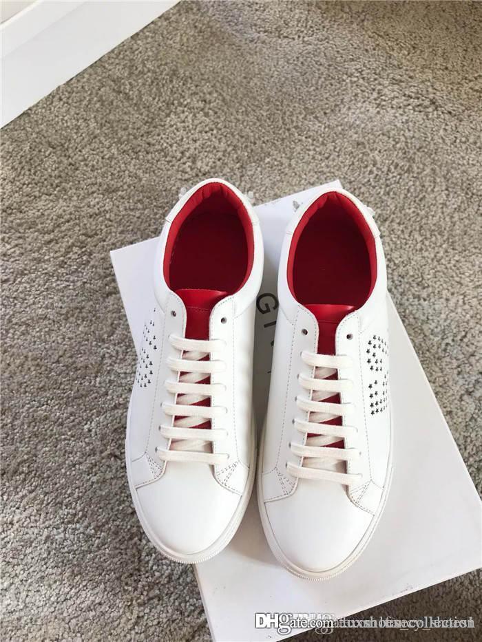 Erkek Ve Kadın Klasik eğilim Casual sporu beyaz ayakkabılar. Ambalaj Eşleştirme 2020 SS toplama Sneakers Son orijinal cavans Ayakkabı