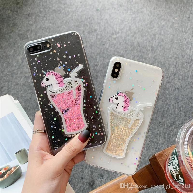 iPhone 6 'Lucky Star' Glitter Cover