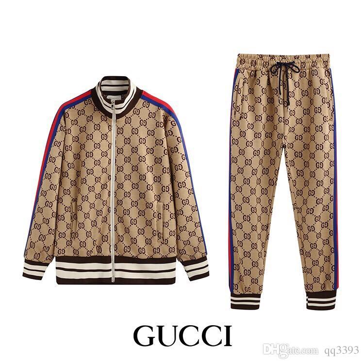 2019 Männer Tracksuits Sweatshirts Sweat Suits Männer Hoodies Anzug Jacken Sets Medusa Sport Luxury Sport Suit M-3XL HYG