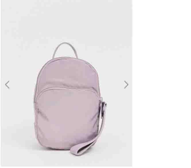 Mochila diseñador de lujo de las mujeres mini mochilas Mochila Oblicua Span estilo académico color puro ocio salvaje Joker Newset Fashion2