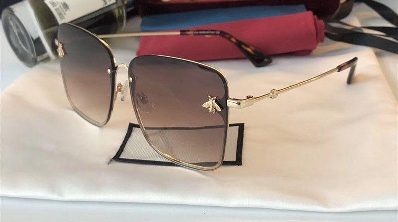 Luxury- 2200 Солнцезащитные очки для женщин. Дизайн бренда. Популярная мода. Летний стиль с пчелами.