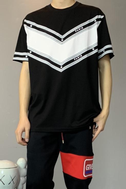 Kadın atletler Gevşek Erkek tişört Karşıt Mektupları Baskılı T-shirt Genç Öğrenci Siyah Beyaz tees2020 VEREN Yeni NCHY tee QQ10