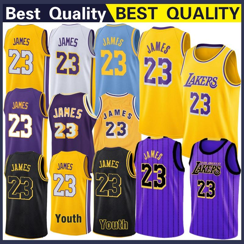 size 40 2bb46 877a0 2019 Los Angeles 23 James LeBron Lakers Jersey Bryant 24 Kobe Sports  Outdoors Athletic Outdoor Apparel Top Quality Stitched Basketball Jerseys  From ...