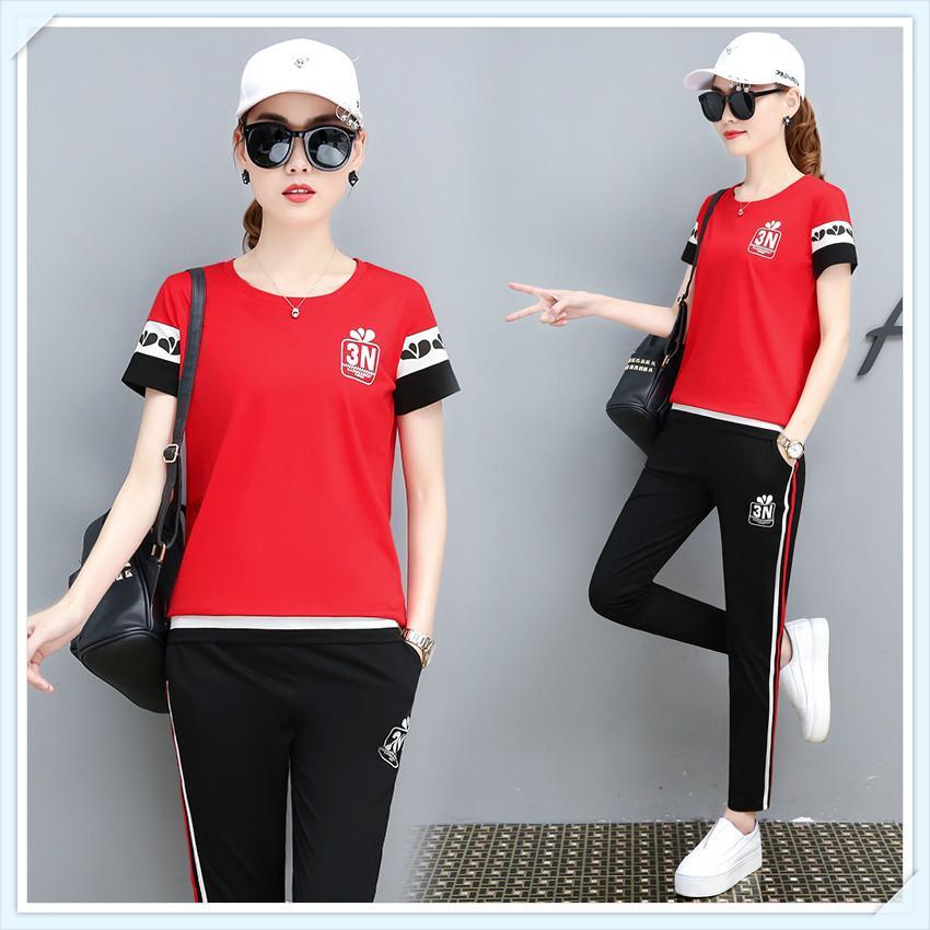 2020 Survêtement de sport de marque est l'automne printemps sport dames Styliste femmes actives vêtements de qualité 2 couleurs taille asiatique M-3XL