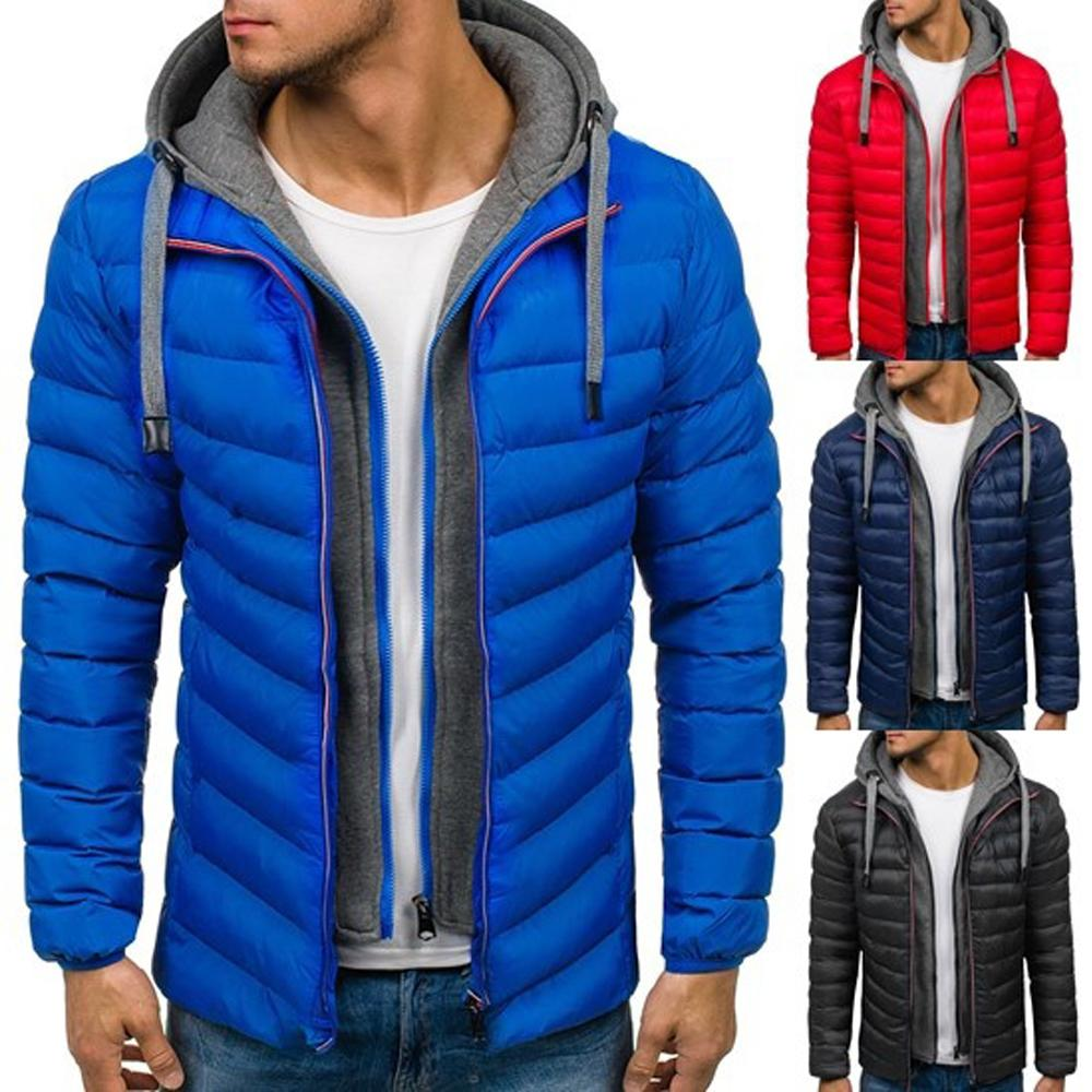 ZOGAA hiver manteau hommes Casual Hoodied Bubble coton rembourrage Parka vêtements hiver veste hommes