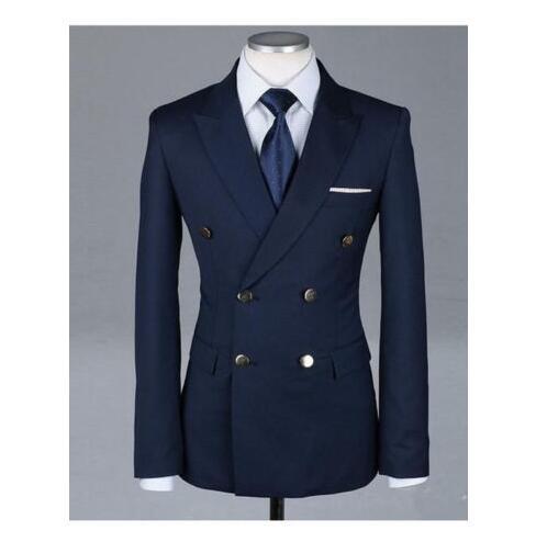 Мужские костюмы BLAZERS MY LODDY Последние дизайн пальто повседневные пользовательские мужчины Slim Fit Men Blazer Tuxedo Party Prom Prom платья (одна куртка)