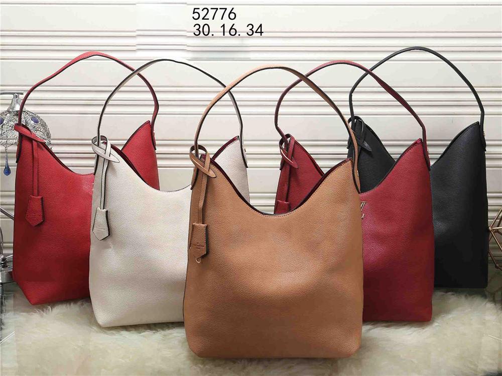 حقيبة التسوق مصمم حقائب اليد الكلاسيكية الساخن بيع نمط Naverfull البقر الحقيقي عالية جلد أعلى جودة فاخرة حمل الفاصل الكتف