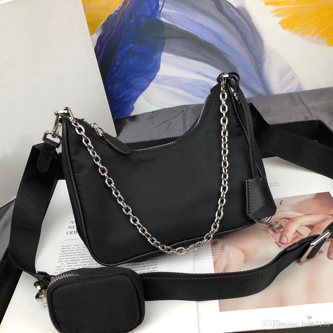 2020 signore calde di vendita signore della borsa a tracolla piccola catena di borsa messenger di lusso portafoglio di alta qualità in pelle di lusso handbag042807