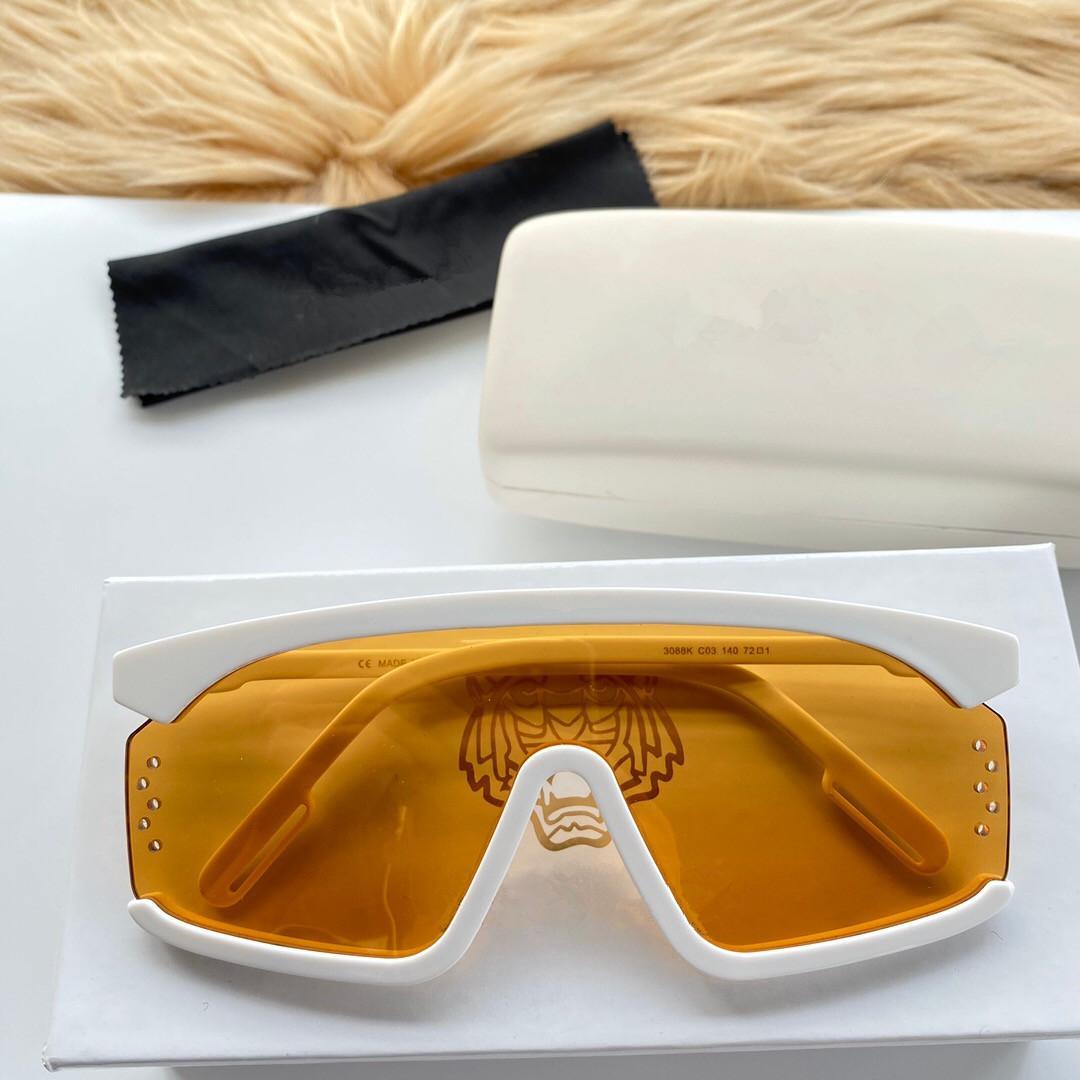 3088 стиль моды женские дизайнерские солнцезащитные очки новый авангардный стиль Прямоугольная рама очки с бриллиант высшего качества UV400 линзы