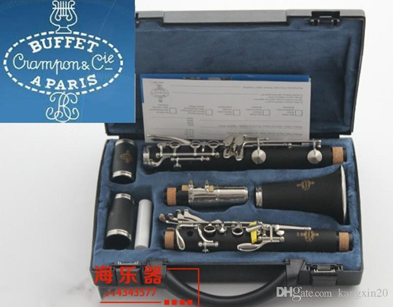 Buffet 1986 B12 clarinette Sib 17 clés Crampon Cie A PARIS clarinette Etui instruments de musique