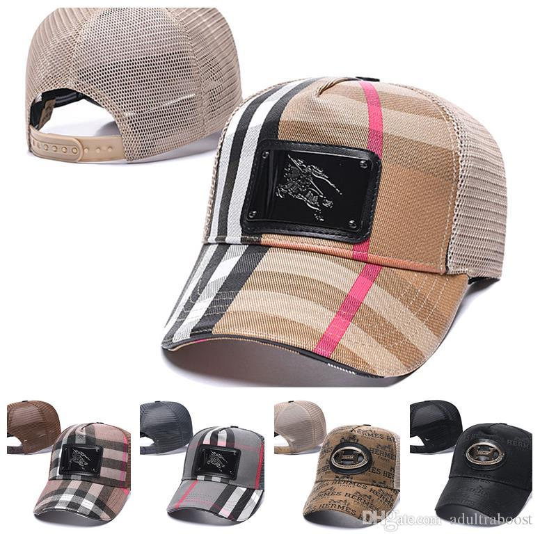 Großhandel Hot Marken-Sommer-Designer Luxus Kappen Männer Frauen beliebt Stickerei-Baseball-Unisex Sport Snapbacks Hut Outdoor Sports Caps