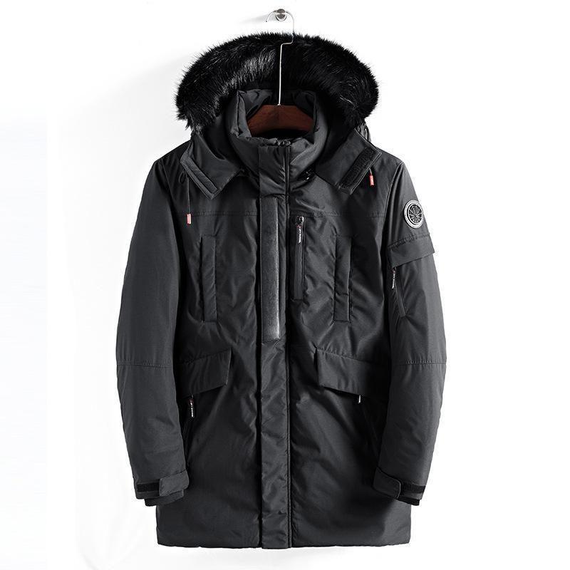 Pop 2019 Amazing Large Size Warm Outwear Winter Jacket Men Windproof PARKAS Hood Brand Clothing