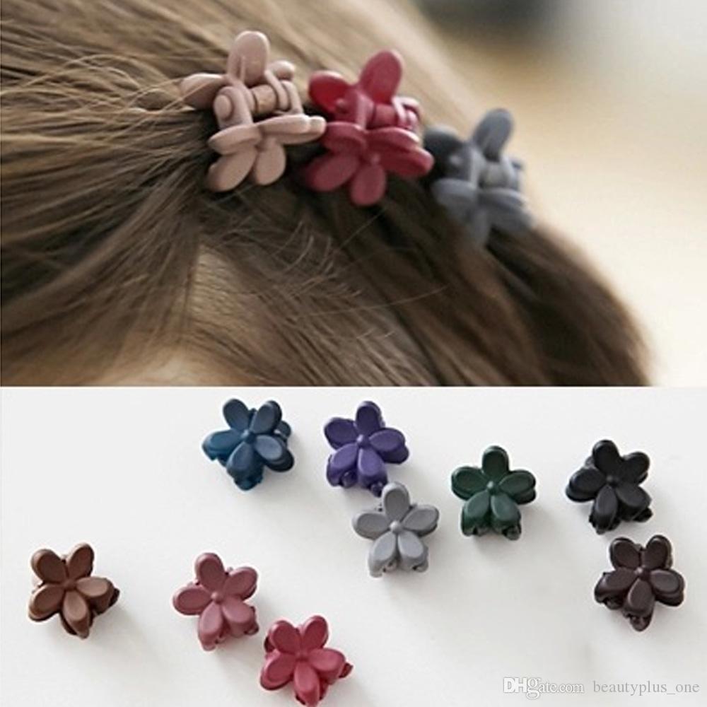 Nuove ragazze coreane di modo Piccolo artiglio dei capelli Sveglio Candy Clip di capelli di colore dei bambini Hairpin Hair Accessories Kids Present