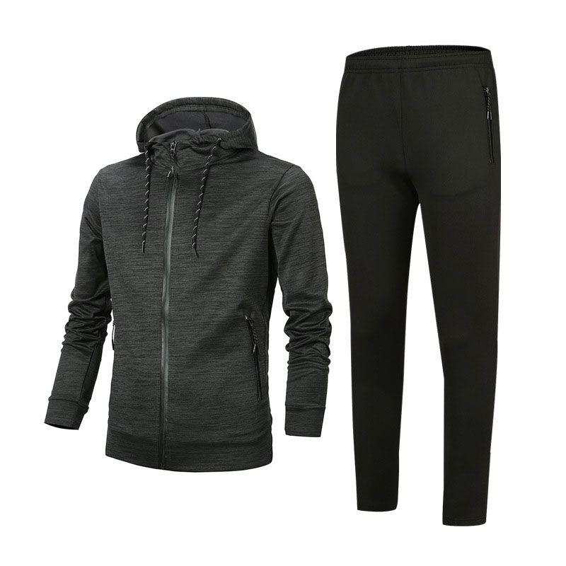 Erkekler Tasarımcı Eşofman İlkbahar Sonbahar Erkek eşofman Moda Aktif Suit Tops + Pantolon Erkekler Casual Kazak Sport Suits Boyut L-4XL