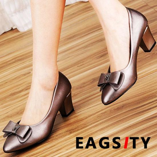 Women Summer Sandals Casual Party Suede Shoes Med Heel Work Office Shoes Size US