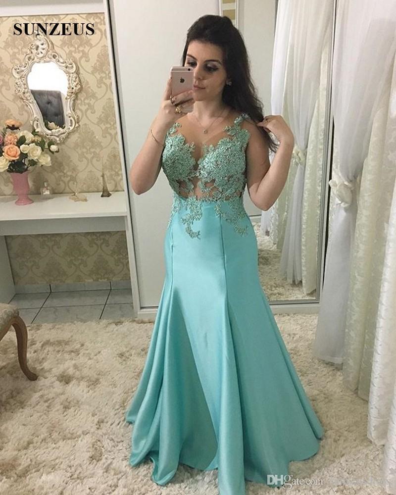 Vestidos de madrinha 2019 azul tiffany