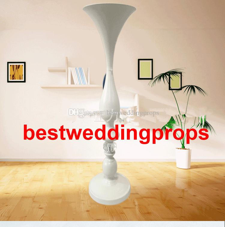 New styleWedding props white paint mermaid vase site layout road led European metal furnishing articles, wrought iron flower stand best0631