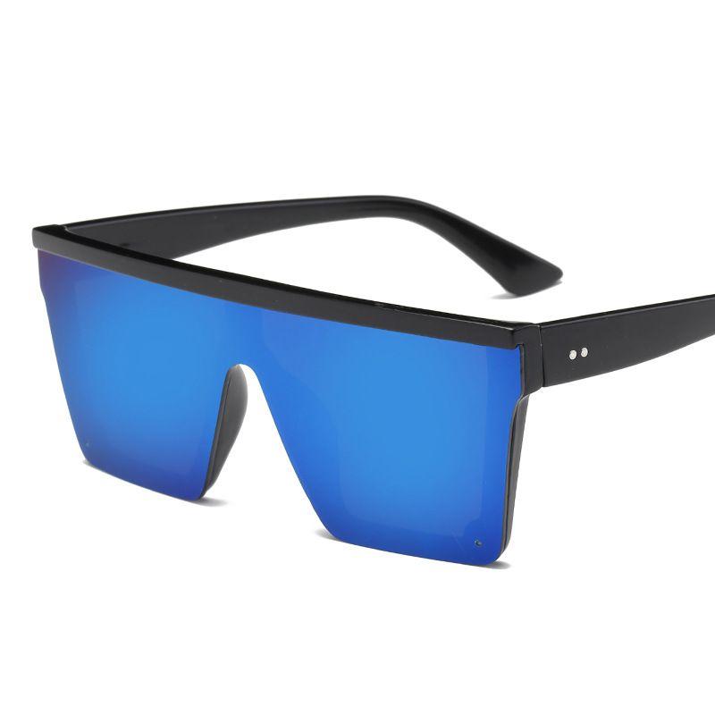 All'ingrosso-nuovi uomini eleganti e moderni occhiali da sole piatti migliori occhiali di design quadrati per le donne moda vintage di occhiali da sole Oculos de sol