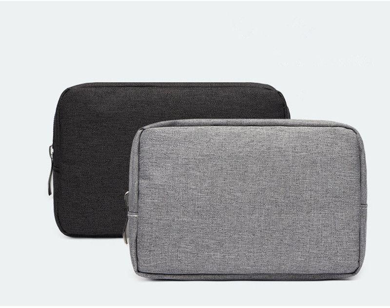 Горячая продажа переносная сумка для хранения аксессуаров для мобильных телефонов путешествия Цифровой USB кабель зарядное устройство сумка для хранения может настроить ваш логотип
