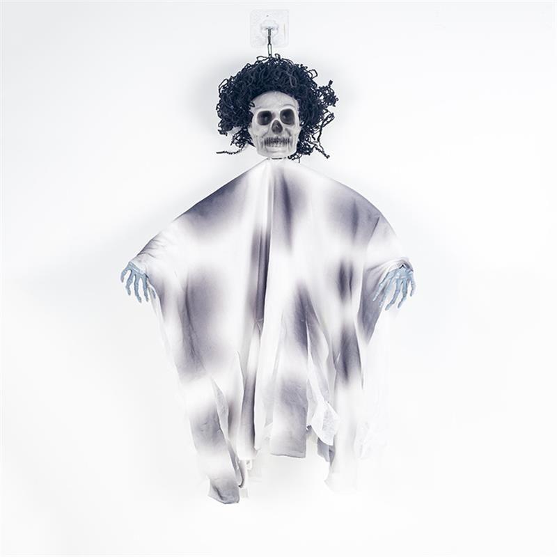 2019 Nuovo liberato solido scheletro di Halloween Hanging fantasma con la mano spaventosa casa infestata Horror Prop Decor partito