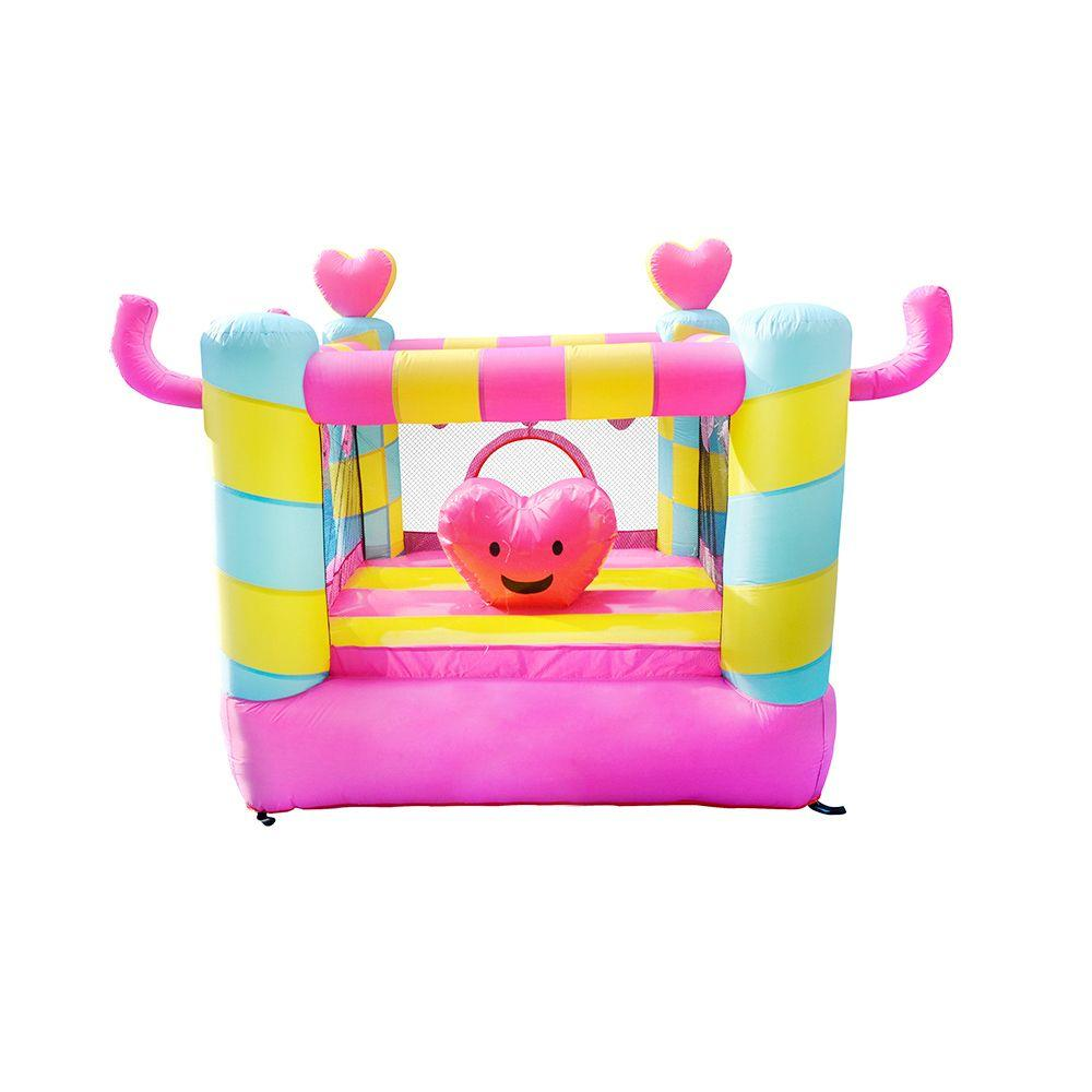 Inflatable Bouncer For Sale Popular Inflatable Small Size Pink Bouncy Castle America Jump House For Kid Gerden Fun Small Inflatable Bouncer