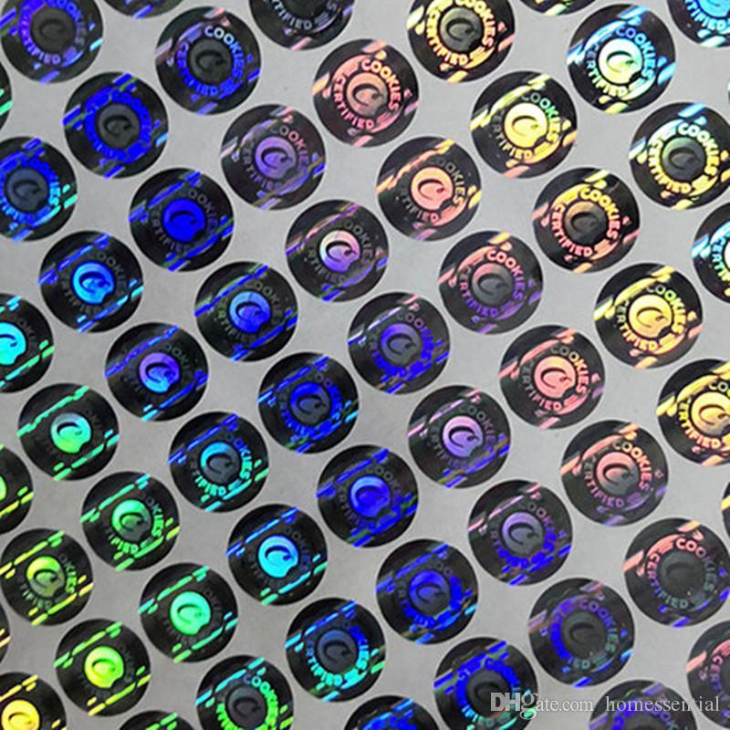 الكوكيز كاليفورنيا 3d الهولوغرام ملصقات فقط ملصقات قبول تخصيص 3d الهولوغرام ملصقا ملفات تعريف الارتباط 3d الهولوغرام ملصقات