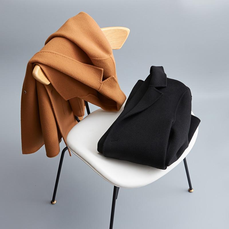 2018 new arrival winter coat men high quality wool Classic trench coat men parka,men's fashion casual jacket plus-size M-XXXL