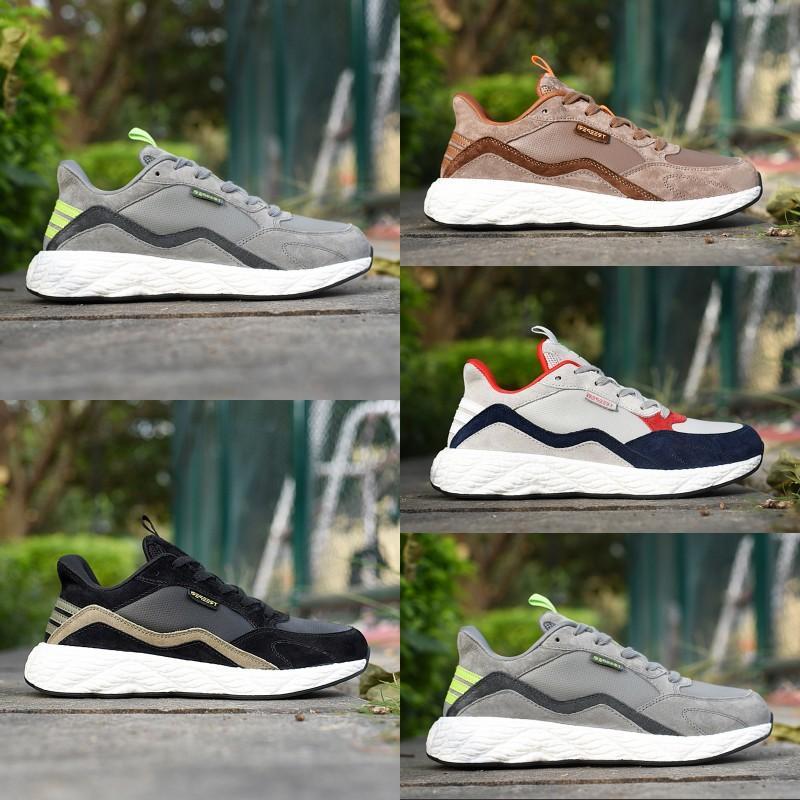 scarpe casual uomini treeperi BasfBoost onda corridore v2 volt navy grigio formatori Bordeaux scarpe da ginnastica mens olive nere progettista modo delle donne 36-45